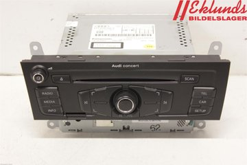 Radio CD / Multimediapanel - Audi A4, S4 -11   8T1 057 186 P    8T1035186BT1035186P