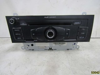 Radio CD / Multimediapanel - Audi A4, S4 -12 8T1057186PX  8T1035186P