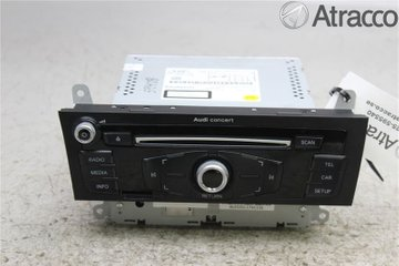 Radio CD / Multimediapanel - Audi A4, S4 -13   8R1035186