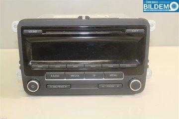 radio stereo till vw golf plus cross golf 04 14 k p. Black Bedroom Furniture Sets. Home Design Ideas
