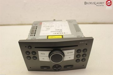 Radio CD / Multimediapanel - Opel Astra -05 13154302 453116246 13154302