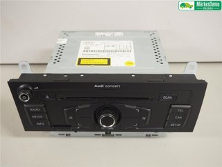 Radio CD / Multimediapanel - Audi A4, S4 -09 8T1057186PX  8T1035186P
