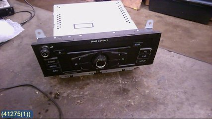Radio CD / Multimediapanel - Audi A4, S4 -11 8T1035186P