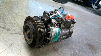 Byta ac kompressor saab 9-5