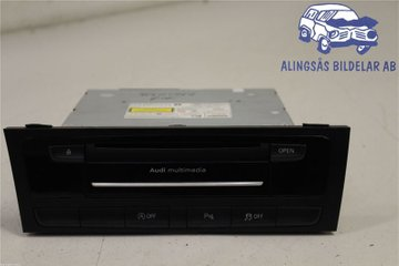 Radio CD / Multimediapanel - Audi A4, S4 -13 8R1 035 666 AX  8R1 035 666 A