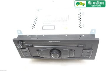 Radio CD / Multimediapanel - Audi A4, S4 -11 8T1 057 186 PX  8T1035186P