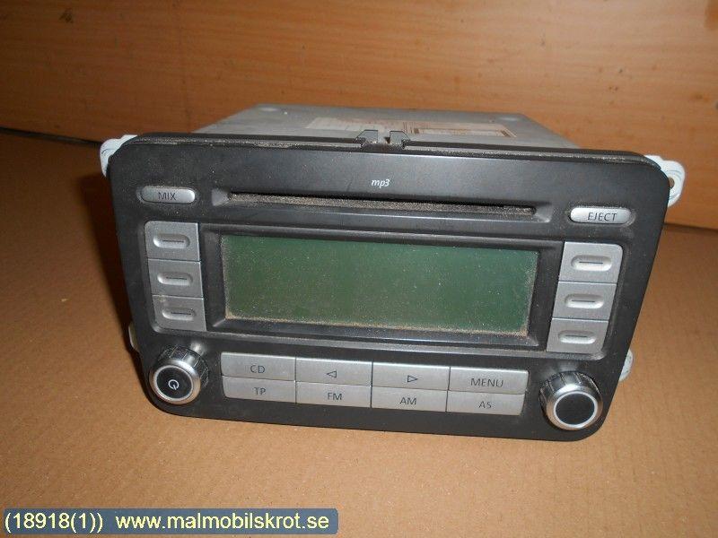 radio cd multimediapanel vw caddy 08 w18918. Black Bedroom Furniture Sets. Home Design Ideas