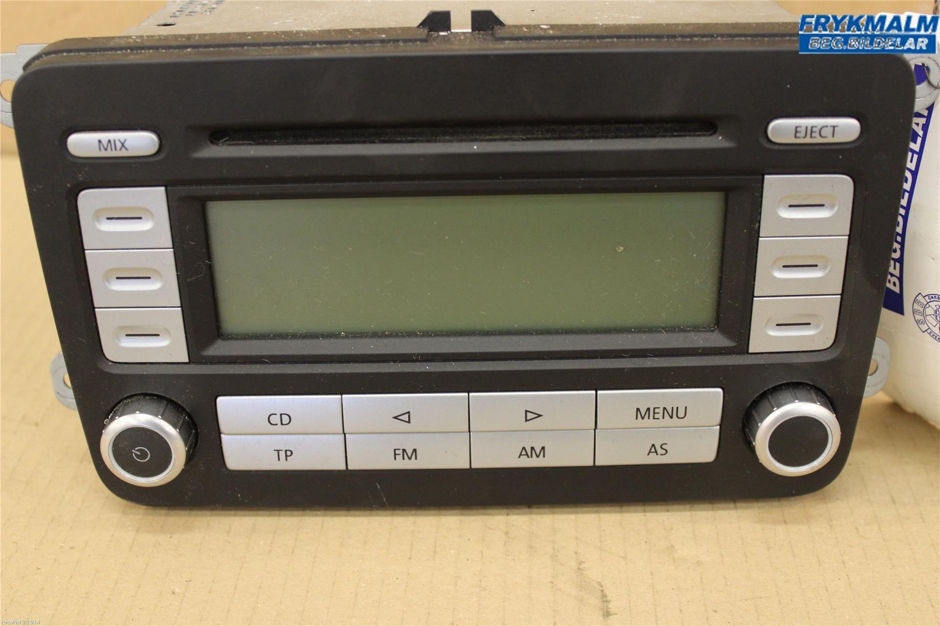 radio cd multimediapanel vw caddy 07 w317808. Black Bedroom Furniture Sets. Home Design Ideas